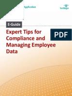 TipsForCompliance and EmployeeData