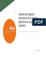 Estudio Del Impacto Economico de La Practica Deportiva en El Gasto Sanitario