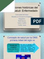 Concepciones Históricas Del Proceso Salud- Enfermedad»
