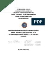 Estrategia Fundamentada en El Marketing Interno Para El Desarrollo Organizacional de La Distribuidora Guacharín Oriente c.a. en El Estado Monagas. (3)