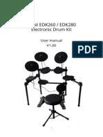 EDK260 280 Manual