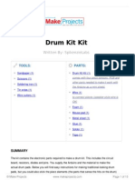 Spikenzie Labs Drum Kit