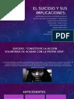 El Suicidio y Sus Implicaciones