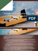 Planificacion y Estimacion de Proyectos de Software