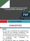2.1 TIPOS DE NORMAS