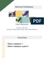 T1 Relational Database