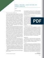 Fever of Undetermined Origin [ACP Medicine August 2013]