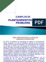 3.- EJEMPLOS PLANTEAMIENTOS