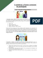 Cómo Decir Palabras y Frases Comunes en Portugués