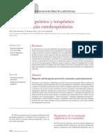 Protocolo Diagn Stico y Terap Utico de Las Neumon as Extrahospitalarias 2014 Medicine Programa de Formaci n M Dica Continuada Acreditado