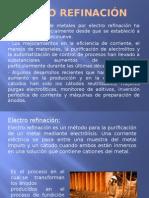 Electro Refinación