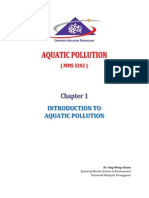 Chapter 1 - Introduction to Aquatic Pollution