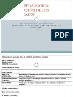 Carpeta Pedagógica de Historia, Geografía y Economía