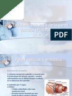 Biología de la pared vascular y endotelio POSTGRADO