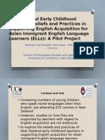 Teachers' Beliefs and Practices