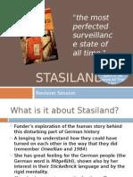 Stasiland Revision Powerpointji