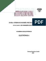 Electrónica I Parc