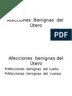 Afecciones Benignas Del Utero 1