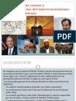 Causas y Consecuencias Del Intervencionismo en M.O.