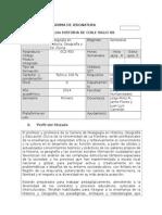 Programa Historia de Chile Siglo XX. 2014