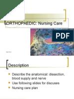 Orthopedic Nursing Care