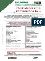 20150306 Csif Informa Convocatoria Interinidades 2 13199