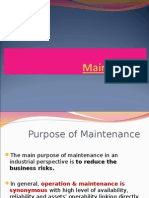 Maintenance -I.ppt