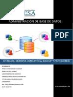 Administración de Base de Datos.