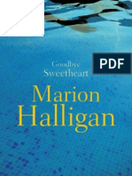 Marion Halligan - Goodbye Sweetheart (Extract)