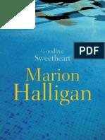 Marion Halligan - Goodbye Sweetheart (Extract)