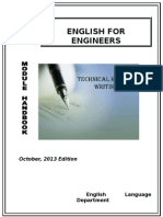 Technical Writing for Engineers booklet