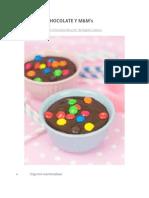 Mousse de Chocolate y m