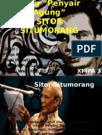 Biografi - Sitor Situmorang - k.4 XI IPA 3