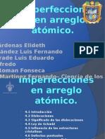 4 Imperfecciones en Arreglos Atómicos