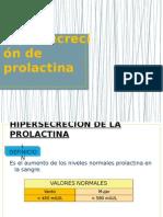 Hipersecreción de Prolactina