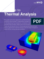 Midas NFX Thermal Analysis