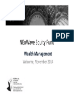 NEO WAVE EQUITY FUND