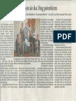 Artikel der Rhein-Neckar Zeitung
