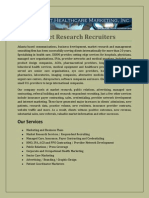Market Research Recruiters