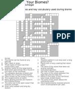 Biome Crossword (1)