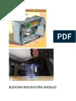 Budowa Replikatora Według Koncepcji Michała Richtera