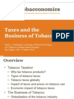 Taxes and the Business of Tobacco