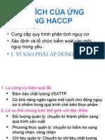 Ung Dung HACCP Trong Co So San Xuat