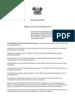 DECRETO N 25.017 Declara Estado de Calamidade Abrangente Exclusivamente Do Sistema Penitenciário Do Estado