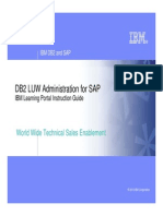 FREE DB2 LUW Administration for SAP ELearning