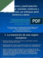 Migraciones y participación ciudadana