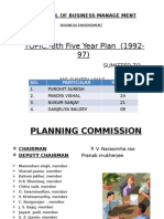8th Year Plan