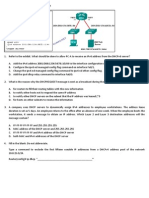 CCNA 2 Chapter 10 v5.0 Exam Questions