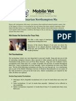 Veterinarian Northampton Ma