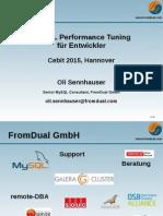 MySQL Performance Tuning für Entwickler